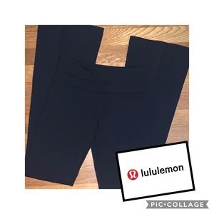 EUC Lululemon Athletica H6 Yoga Pant 2R